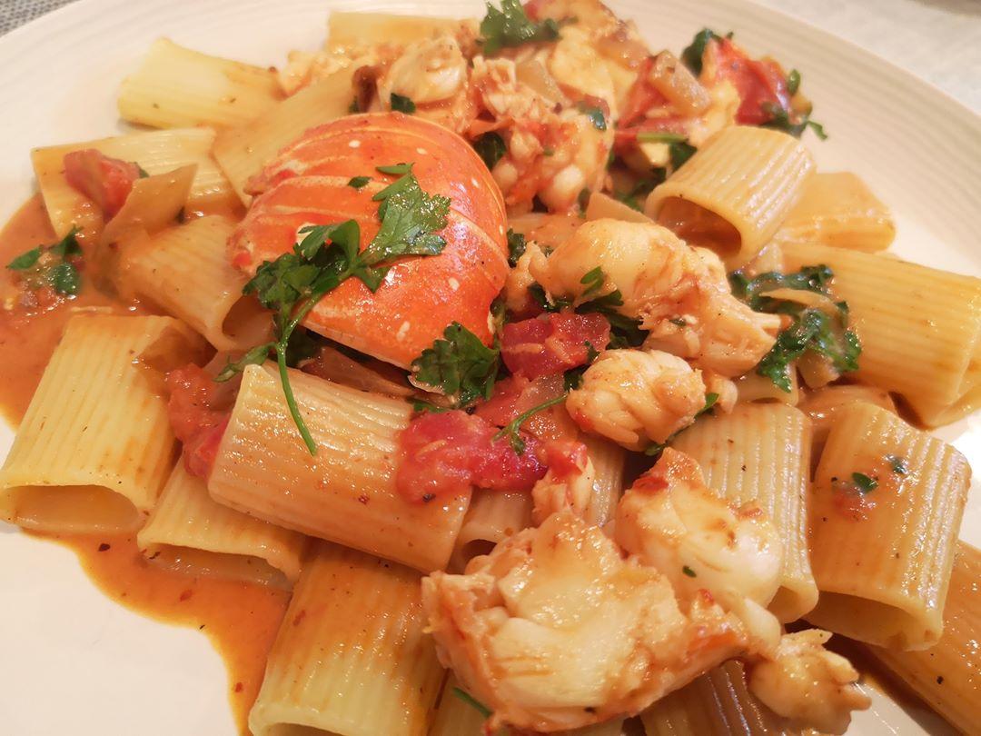 Valentine's Day Recipe - Spicy Lobster Pasta